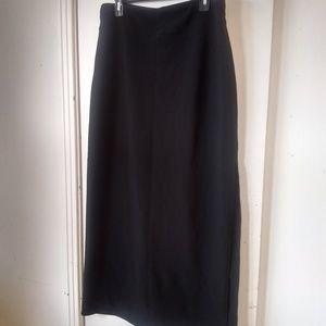 Boston proper ladies black maxi dress size L